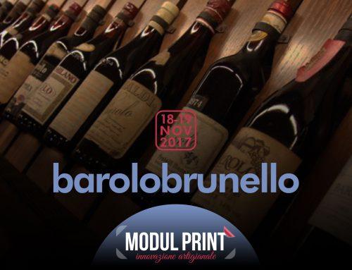 Saremo al Barolo Brunello 2018!